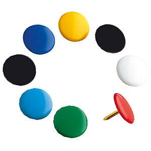 100 duimspijkers diam. 10 mm Maped geassorteerde kleuren, per doos