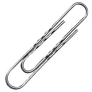 100 gegolfde paperclips Maped L. 77 mm