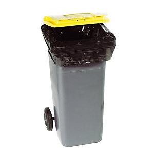 100 housses pour conteneurs 340 L épaisseur 35 microns