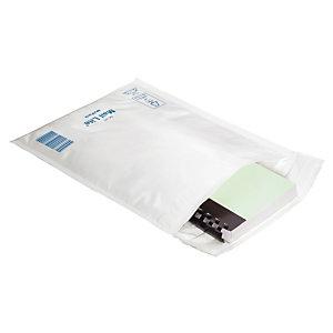 100 Mail Lite Tuff bubbeltjesplasticzakjes 27 x 36 cm witte kleur, per set