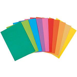 100 ondermappen ROCK 'S 80 geassorteerde kleuren