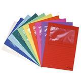 100 pochettes coin à fenêtre Forever carte recyclée 120 g coloris assortis