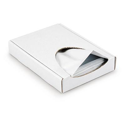 Mini-colis de 100 pochettes plastique opaque##100 undurchsichtige Folienversandtaschen