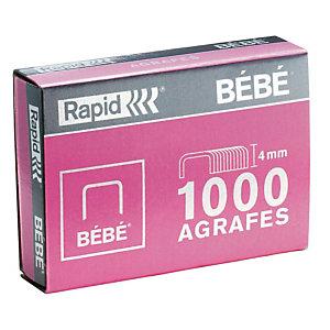 1000 agrafes normalisées standard n°8/4 Bébé Rapid
