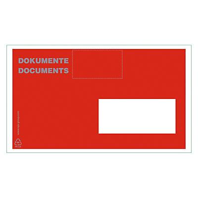 1000 Dokumententaschen RAJALIST bedruckt