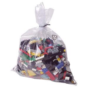 1000 sachets plastique multi-usages 50 microns, 30 x 50 cm