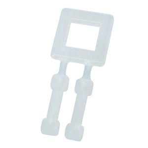 1000 transparante plastic ringen voor manuele omringing.