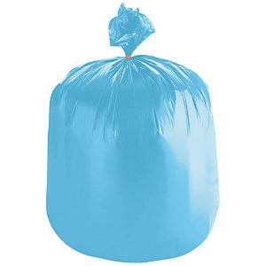 1000 voordelige zakken 30 L, blauwe kleur