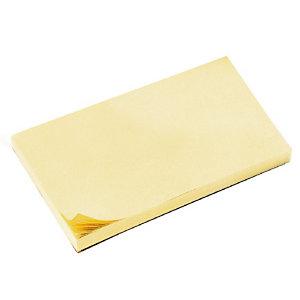 12 blokken herplaatsbare memo's 38 x 51 mm kleur geel