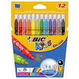 12 feutres de coloriage Bic Kids couleur##12 kleurstiften Kid couleur