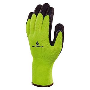12 paires de gants de manutention haute visibilité spécial froid Apollon winter Delta Plus, taille 10