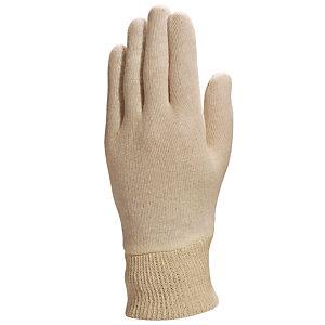 12 paires de gants tricot coton pour petites manipulations CO131 Delta Plus, taille 7