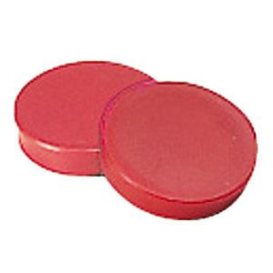12 rode ronde magneetjes Ø 20 mm