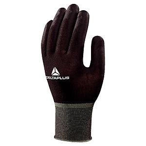 12 zwarte handschoenen voor manipulaties Hestia M. 8