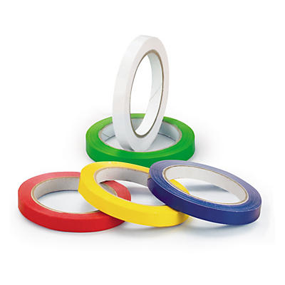 12mm coloured vinyl packaging tape