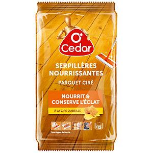 15 serpillières nourrissantes O'Cedar parquet ciré