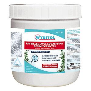 150 pastilles javel effervescentes Wyritol eucalyptus