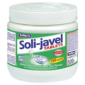 150 pastilles javel Soli-Javel Solipro 500 g