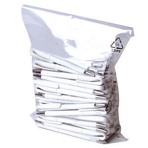150 sachets plastique multi-usages 100 microns, 60 x 100 cm