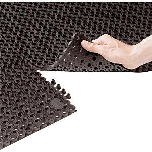2 attaches de fixation pour caillebotis caoutchouc standard coloris noir
