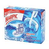 2 blocs cuvette Harpic Eau bleue parfum marine