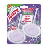 2 blocs harpic galet hygiène parfum lavande##2 hygiënische blokjes Harpic parfum lavendel