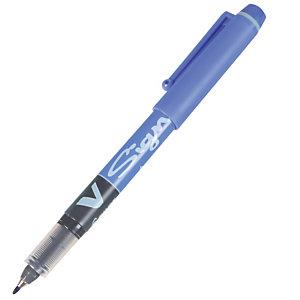 2 feutres V Signpen Pilot coloris bleu