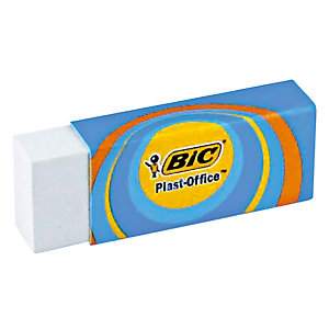 2 gommen Bic® Plast-Office, per set