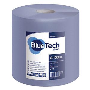 2 handdoekrollen Blue Tech, 1000 vellen