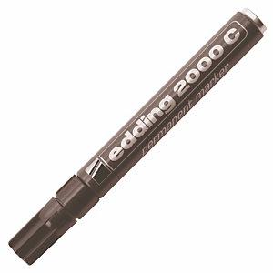 2 marqueurs permanents Edding 2000 C coloris noir