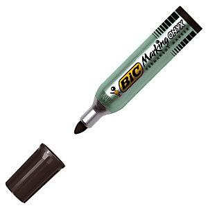 2 marqueurs permanents petit modèle 1482 Onyx Marker coloris noir