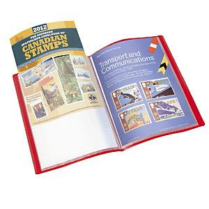 2 protège documents 40 pochettes 1er prix coloris rouge