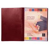 2 protège- documents PVC Véga 20 pochettes /40 vues coloris rouge##2 documentbeschermers Véga 20 hoesjes/ 40 bladen kleur rood