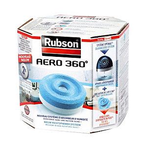 2 recharges Rubson pour absorbeur d'humidité Aéro 360°