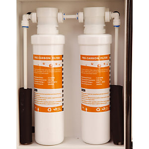 2 reserve koolstoffilters voor machines Fisapac Suite en Smart
