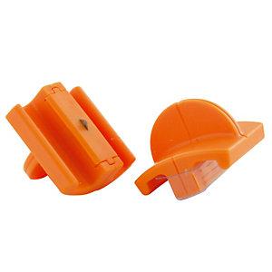 2 roterende Titanium vervanglemmeten voor gerecycleerde snijmachine A4 Fiskars, per set