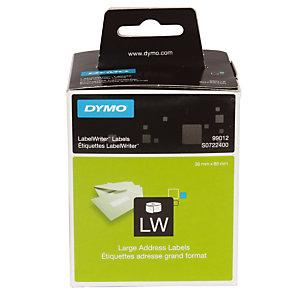 2 rouleaux de 260 étiquettes adresses format 89 x 36 LabelWriter, le lot