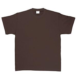 2 T-shirts manches courtes 100% coton noir, taille L