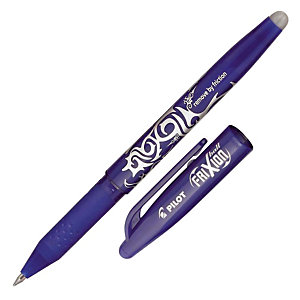 2 Stylos Rollers Frixion Ball coloris bleu