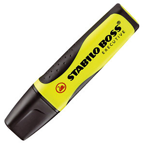 2 surligneurs Stabilo Boss Executive coloris jaune