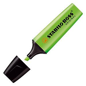 2 surligneurs Stabilo Boss Original coloris vert