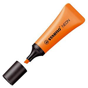 2 surligneurs Stabilo Néon coloris orange
