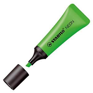2 surligneurs Stabilo Néon coloris vert