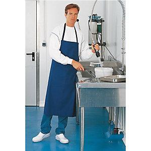 2 tabliers 100% coton bleu marine, taille unique