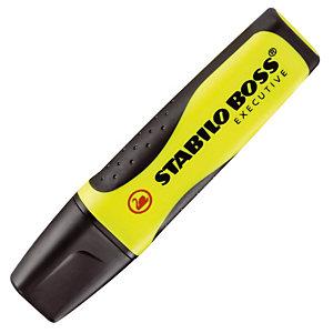 2 tekstmarkers Stabilo Boss Executive kleur geel