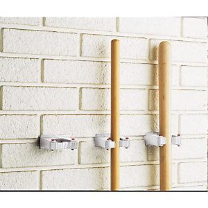 2 Toolflex haken voor steel met Ø 30 tot 40 mm.