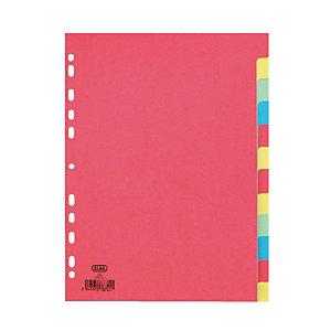 2 x 12 intercalaires Elba format A4 carton 160 g