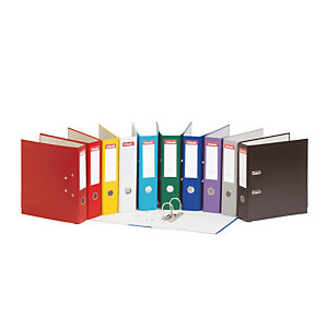 20 Classeurs à levier Essentials PP 75 mm Esselte coloris Assortis