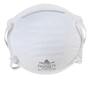 20 masques de protection FFP2 sans valve DeltaPlus