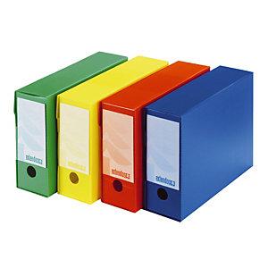 20 polypropyleen archiefdozen Extendos geassorteerde kleuren